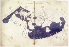 Weltkarte von Claudius Ptolemäus