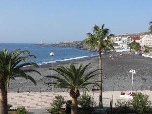 Puerto Naos - Aussicht vom Hotel Sol La Palma