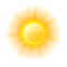 Heute:  Tagsüber - Mainly sunny. High 27C. Winds NNE at 15 to 30 km/h. Nachts - A clear sky. Low 21C. Winds NE at 15 to 25 km/h.