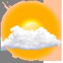 Aktuell - Druck: 1019 mbar - Wind: Geringer Wind (8km/h) aus WSW - Feuchte: 86% - Sichtbarkeit: 10.0km - Taupunkt: 17°C -  Sonnenaufgang um 08:17 Uhr  - Sonnenuntergang um 19:33 Uhr - Taglänge: 11:16h - Mondphase: Zunehmend nach Neumond (erstes Viertel)