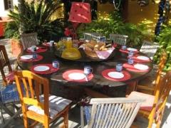 Hostel La Palma Musicasa Frühstück