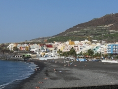 Puerto Naos - Blick über den Strand