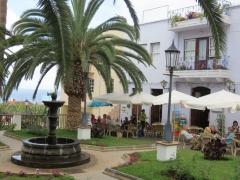 San Andrés - idyllisches Café